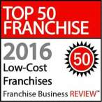 2016 Top Low-Cost Franchises Under 100K